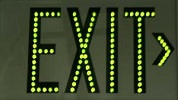 LEDs Green Exit Sign