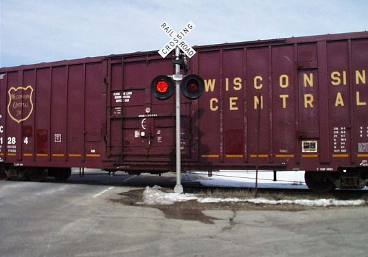 LEDs Train Signal