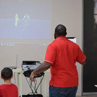 Visitors interact with MRSEC activities
