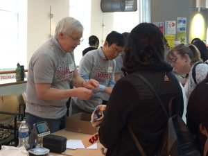 MRSEC researchers perform outreach at the annual Engineering Expo