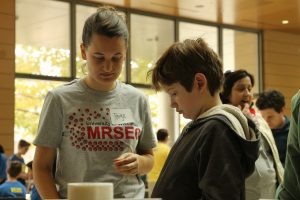 MRSEC volunteers at the WI Science Festival